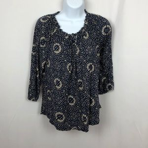Lucky Brand rayon knit top S